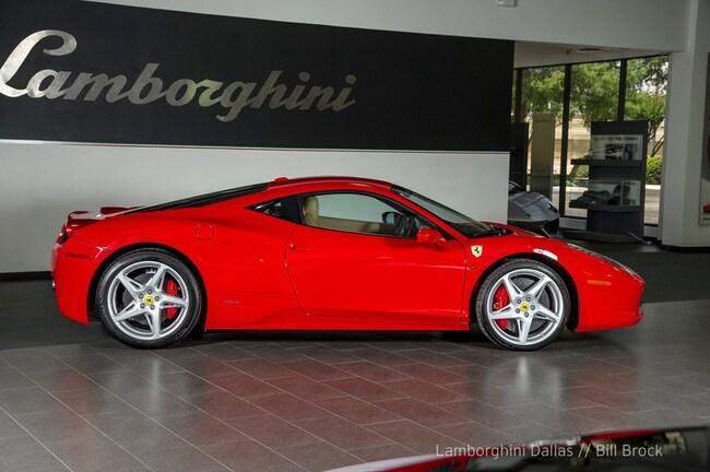 Used 2012 Ferrari 458 Italia For Sale Richardsontx Stock Lt1147
