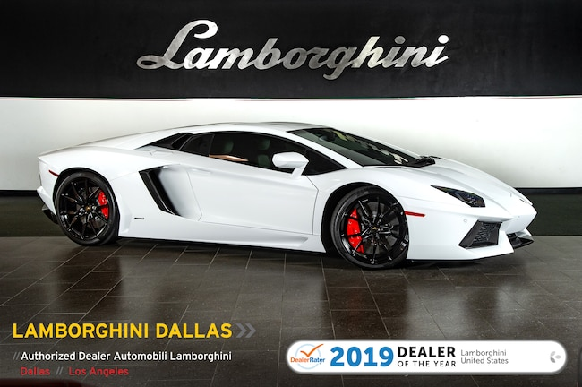 Pre-Owned 2014 Lamborghini Aventador LP700-4 Coupe Dallas TX
