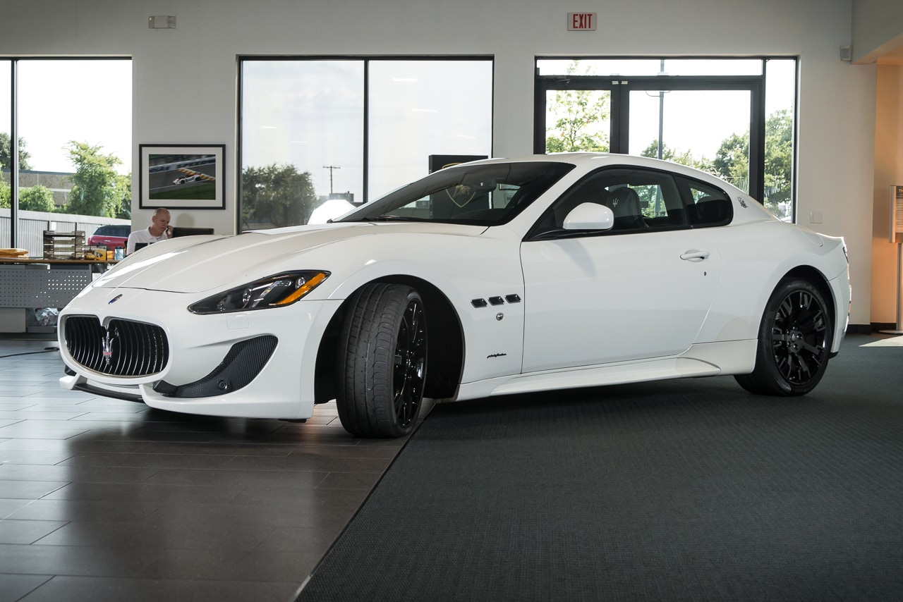 used 2013 maserati gran turismo sport for sale richardson tx stock l0950 vin zam45vlaxd0071342. Black Bedroom Furniture Sets. Home Design Ideas