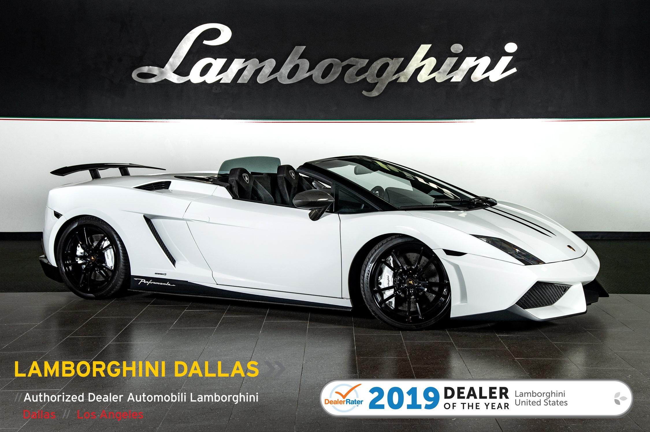 2011 Lamborghini Gallardo LP570-4 Performante Spyder