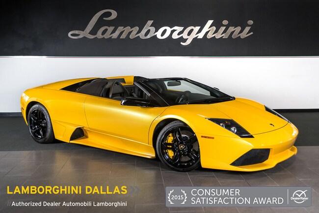 Pre-Owned 2008 Lamborghini Murcielago LP 640 Roadster Dallas TX