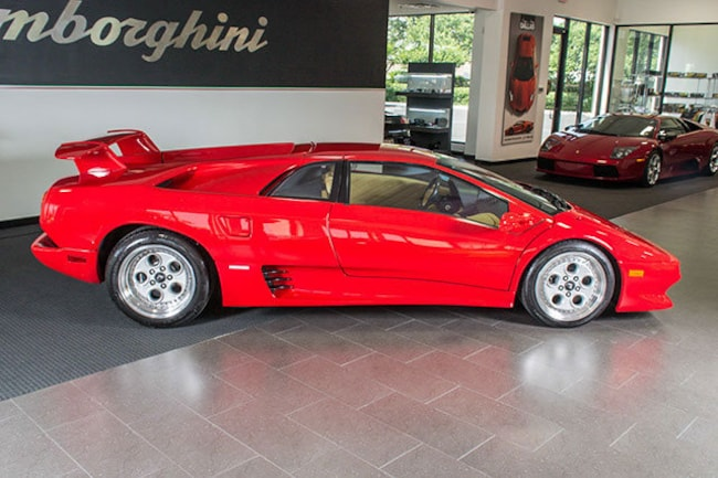 Used 1994 Lamborghini Diablo For Sale Richardson Tx Stock Lt0516