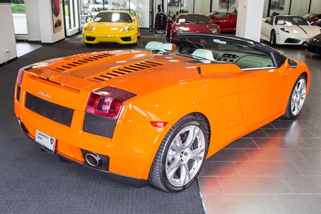 Used 2008 Lamborghini Gallardo For Sale Richardson Tx Stock L0538