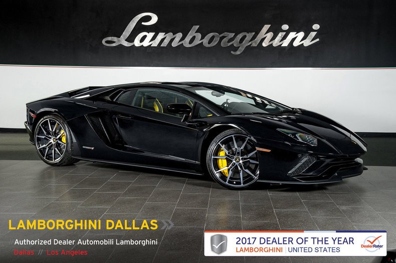 Used 2018 Lamborghini Aventador S For Sale Richardson,TX | Stock# 19L0198A  VIN: ZHWUG4ZD8JLA06858