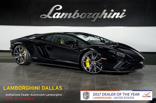 Pre-Owned 2018 Lamborghini Aventador S Coupe Dallas TX