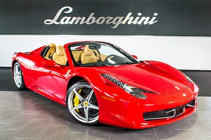 Used 2013 Ferrari 458 Italia For Sale Richardson Tx Stock L0599 Vin Zff68nha1d0191626