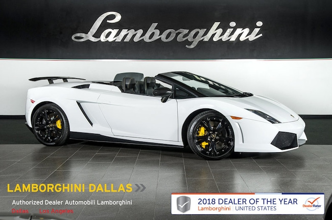 Pre-Owned 2012 Lamborghini Gallardo LP550-2 Spyder Dallas TX