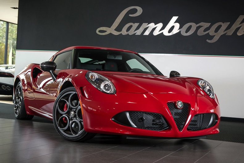 ... Pre Owned 2015 Alfa Romeo 4C Launch Edition Coupe Dallas TX ...