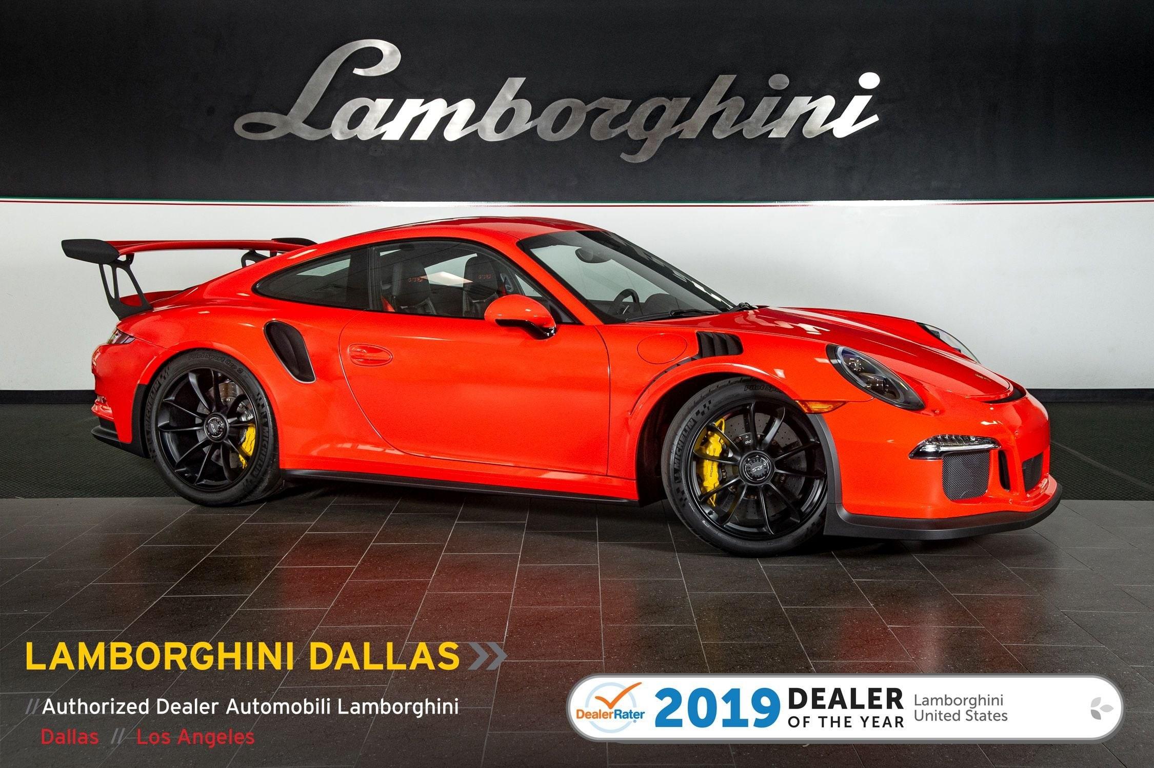 Used 2016 Porsche 911 Gt3 Rs For Sale Richardson Tx Stock Lt1272 Vin Wp0af2a95gs193322