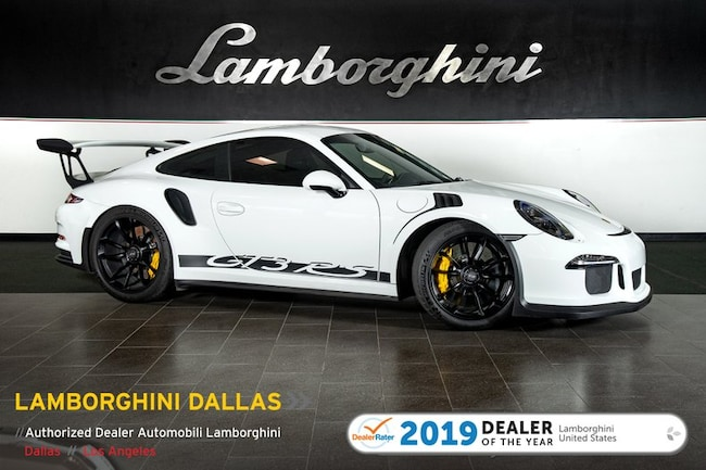 Pre-Owned 2016 Porsche 911 GT3 RS Coupe Dallas TX