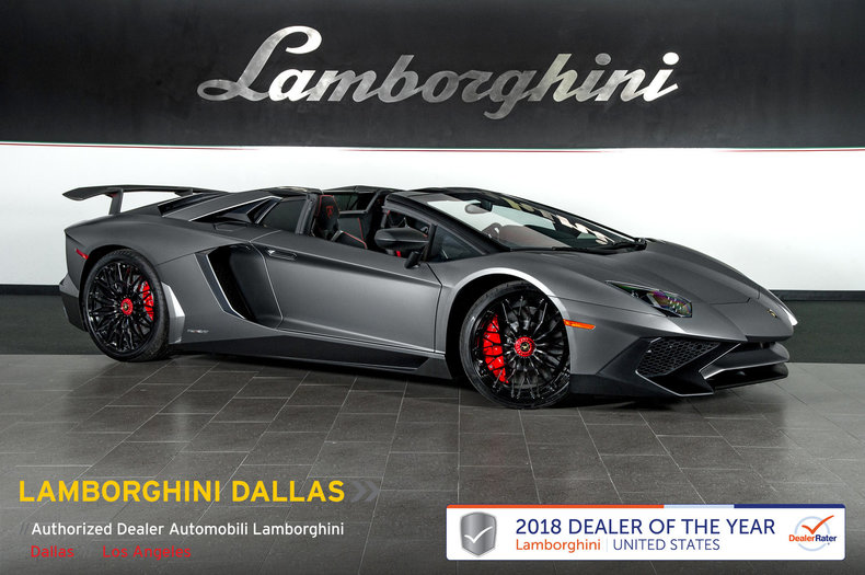 Used 2017 Lamborghini Aventador Sv For Sale Richardsontx Stock L1085 Vin Zhwut3zd3hla05486