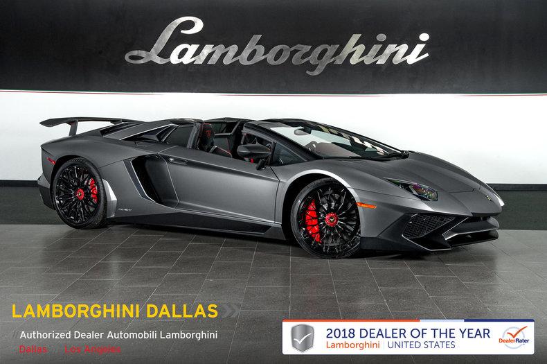 Used 2017 Lamborghini Aventador SV For Sale Richardson,TX
