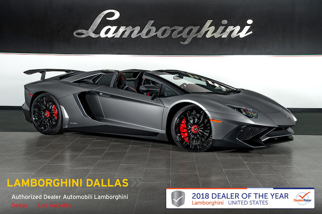 Used 2017 Lamborghini Aventador Sv For Sale Richardson Tx Stock