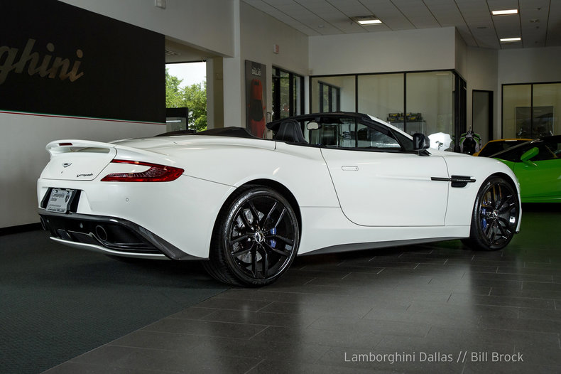 ... Pre Owned 2016 Aston Martin Vanquish Carbon Volante Convertible Dallas  TX ...