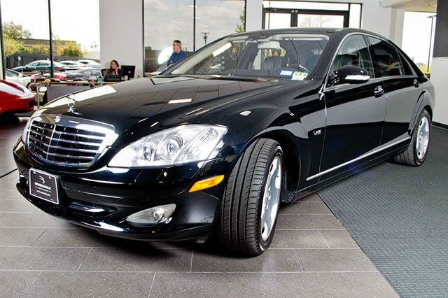 used 2007 mercedes benz s600 for sale richardson tx. Black Bedroom Furniture Sets. Home Design Ideas