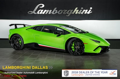 Used 2018 Lamborghini Huracan Performante For Sale Richardsontx Stock L1118 Vin Zhwud4zf4jla09119