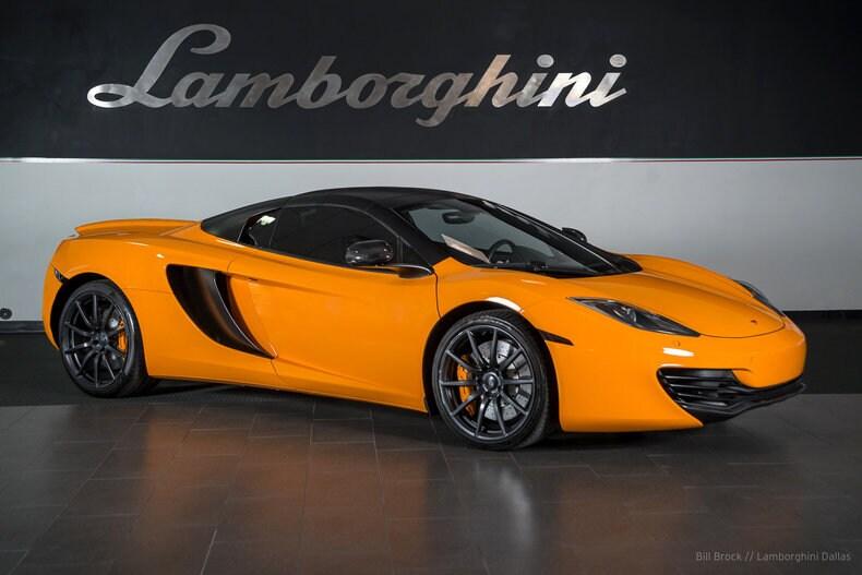 ... Pre Owned 2013 McLaren MP4 12C Spider Dallas TX ...