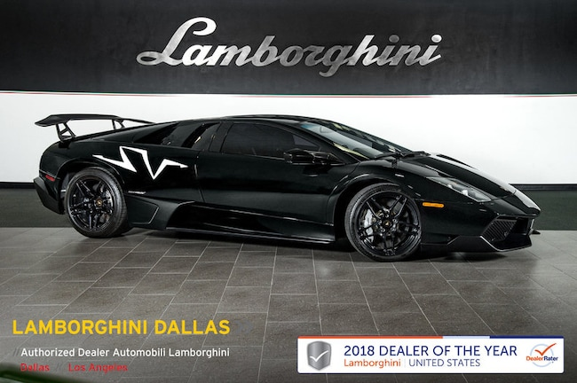 Pre-Owned 2010 Lamborghini Murcielago SV LP670 Coupe Dallas TX