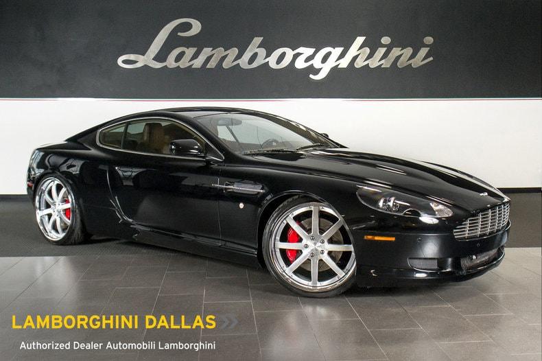 Used 2007 Aston Martin Db9 For Sale Richardson Tx Stock Lt0723 Vin Scfad01a37ga08633