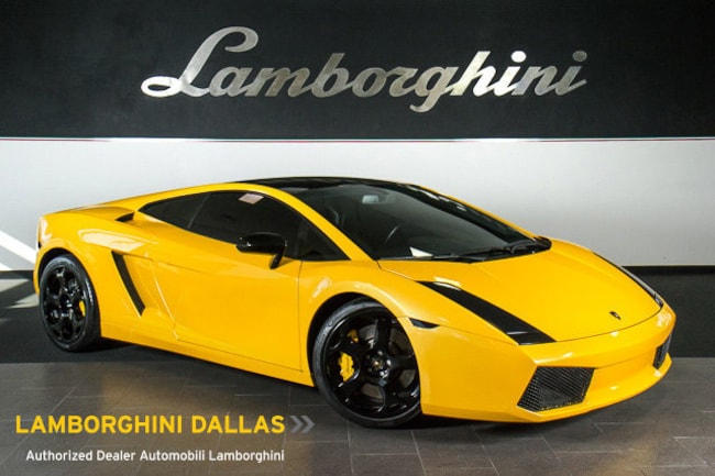 Pre-Owned 2004 Lamborghini Gallardo Coupe Dallas TX