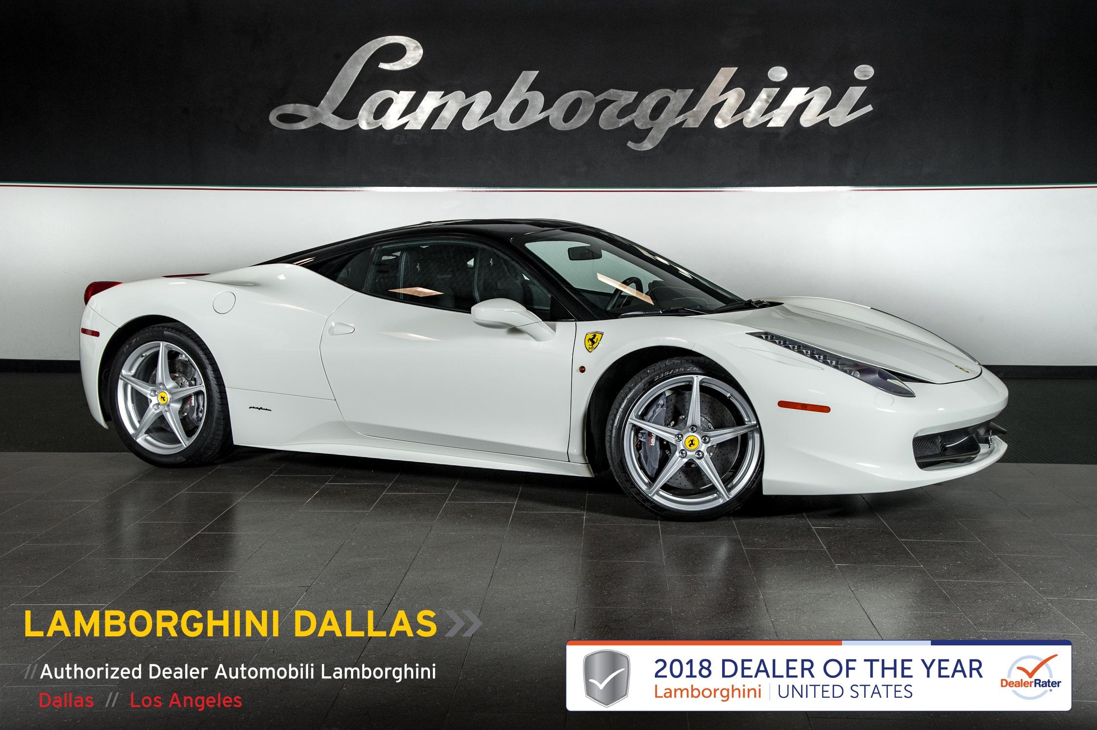 Used 2015 Ferrari 458 Italia For Sale Richardson Tx Stock L0990 Vin Zff67nfa9f0207564
