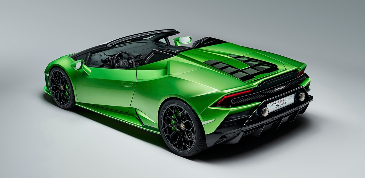 Lamborghini Huracán Evo Spyder Lamborghini North Los Angeles