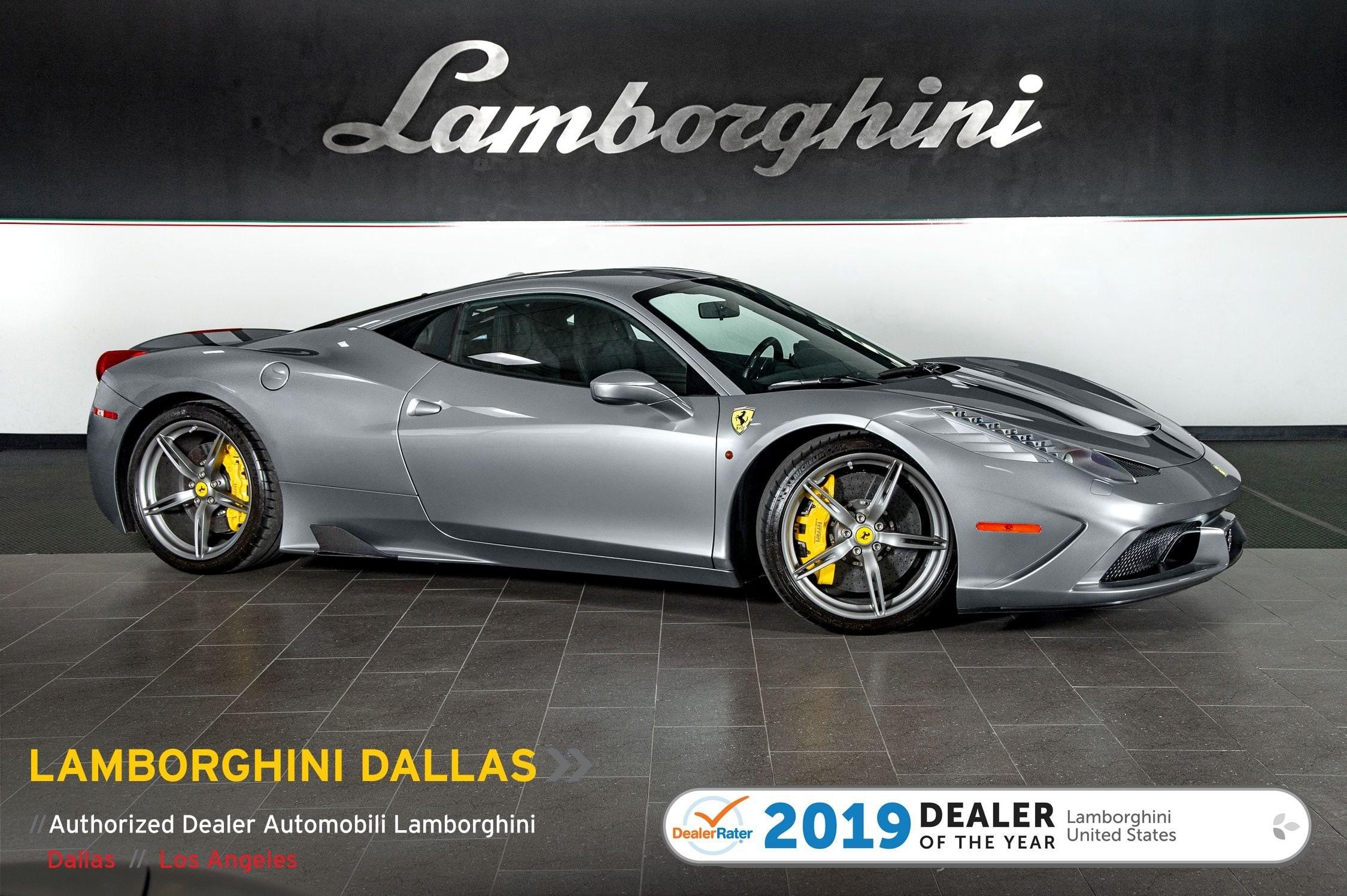 Used 2015 Ferrari 458 Italia Speciale For Sale Richardson Tx Stock L1217 Vin Zff75vfa2f0210574