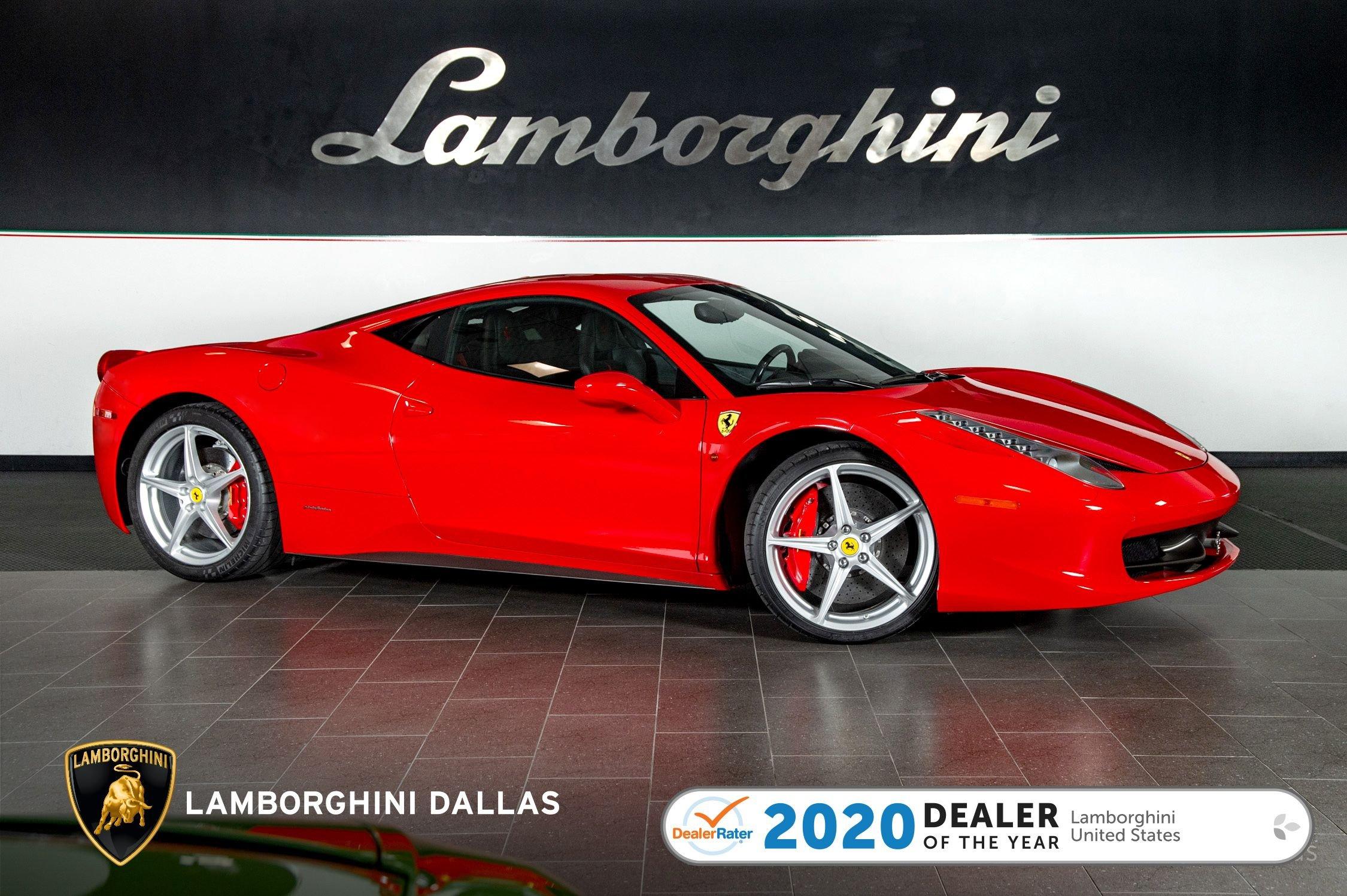 Used 2011 Ferrari 458 Italia For Sale Richardson Tx Stock Lc634 Vin Zff67nfa8b0177418