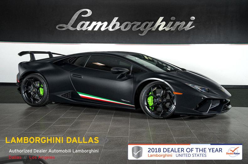 Used 2018 Lamborghini Huracan Performante For Sale Richardson,TX