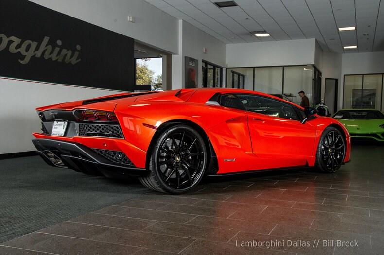 ... New 2018 Lamborghini Aventador S Coupe Near Dallas, TX ...