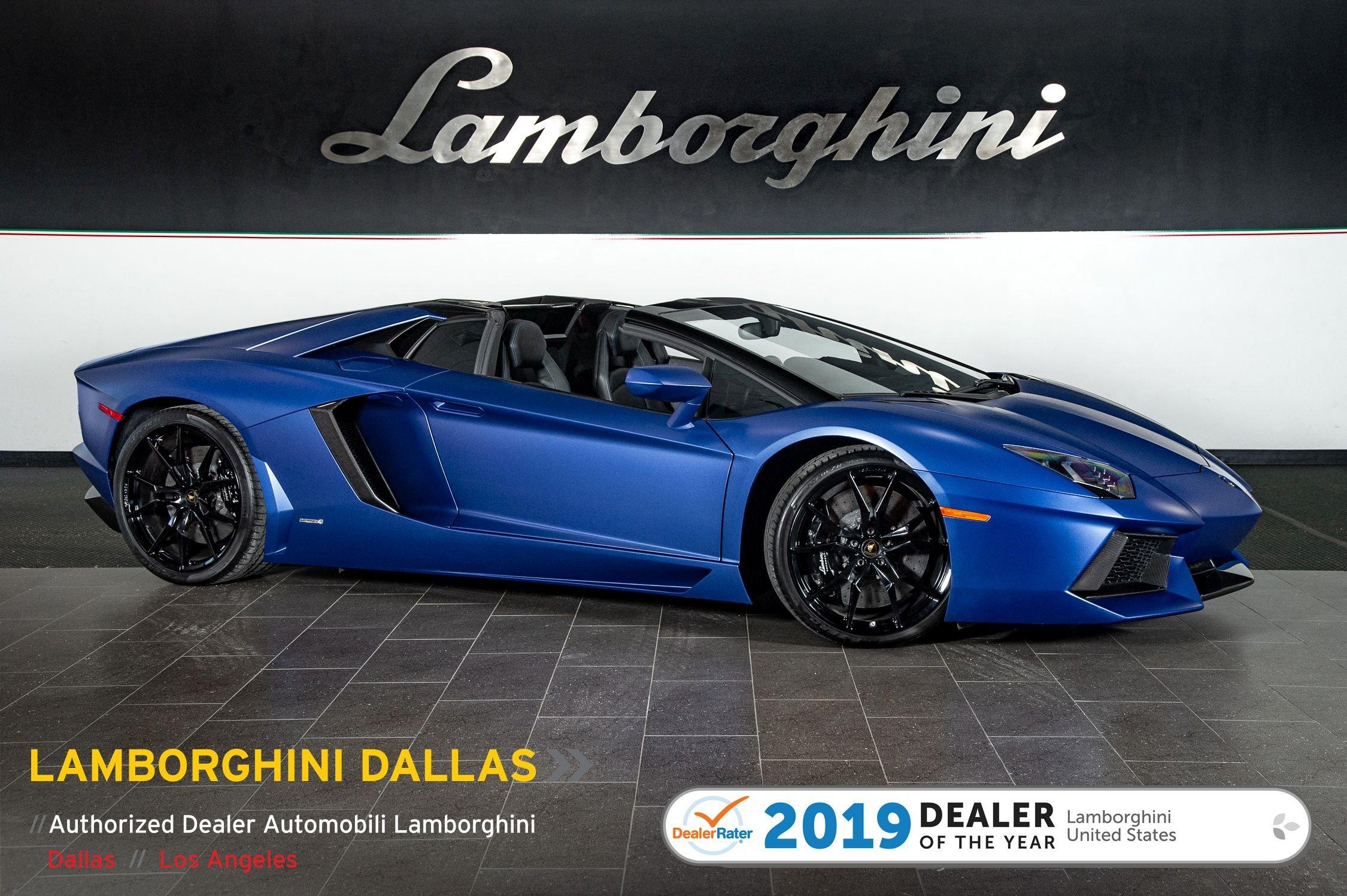 Used 2015 Lamborghini Aventador For Sale Richardson Tx Stock Lt1303 Vin Zhwur1zd3fla03561