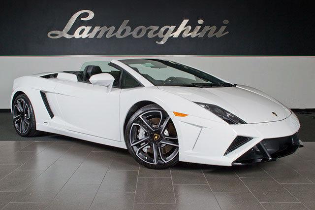 Pre Owned 2013 Lamborghini Gallardo LP560 4 Spyder Dallas TX