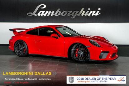 Used 2018 Porsche 911 Gt3 For Sale Richardson Tx Stock Lt1113 Vin Wp0ac2a90js174886
