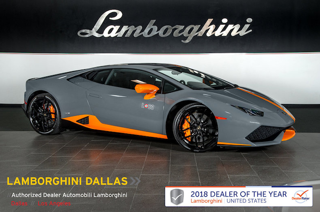 Pre-Owned 2017 Lamborghini Huracan SE Avio Coupe Dallas TX