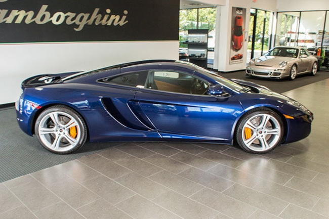 used 2012 mclaren mp4-12c for sale richardson,tx | stock# l0562 vin