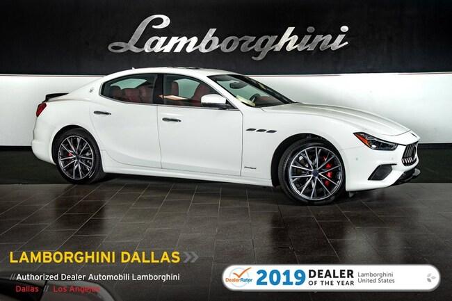 Pre-Owned 2019 Maserati Ghibli S Gransport Sedan Dallas TX