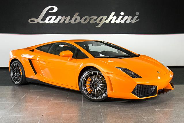 2010-14 Lamborghini Gallardo LP550-2 Dallas Texas Dealer Promo Advert CARD VG+
