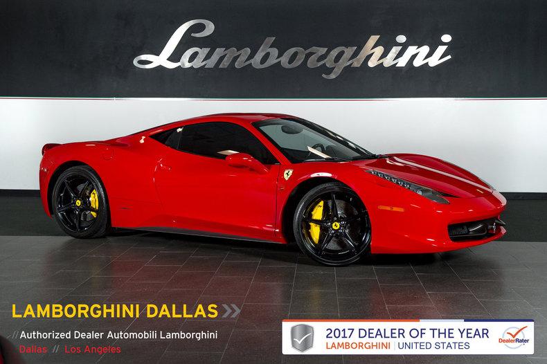 Used 2010 Ferrari 458 Italia For Sale Richardson Tx Stock Lc471 Vin Zff67nfa2a0176179
