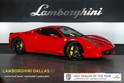 Ferrari 458 Italia For Sale >> Used 2010 Ferrari 458 Italia For Sale Richardson Tx Stock Lc471 Vin Zff67nfa2a0176179