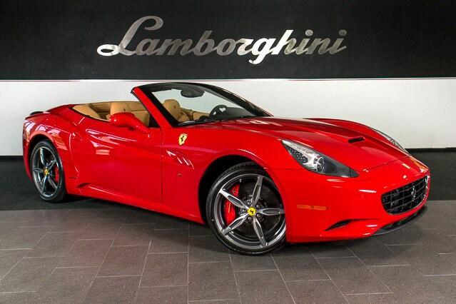 Pre Owned 2014 Ferrari California Convertible Dallas TX