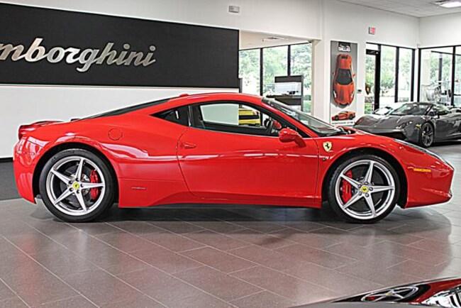 Used 2011 Ferrari 458 Italia For Sale Richardsontx Stock Lc191