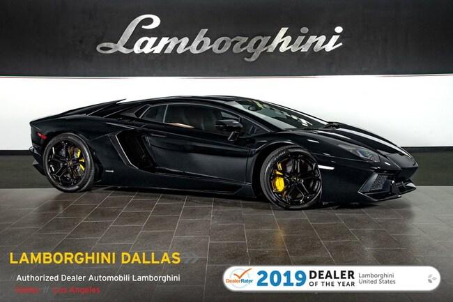 Pre-Owned 2012 Lamborghini Aventador LP 700-4 Coupe Dallas TX