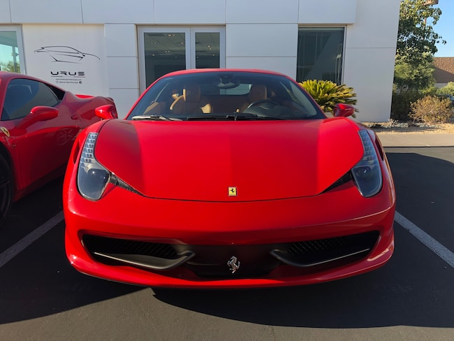 2015 Ferrari 458 Italia Base Coupe