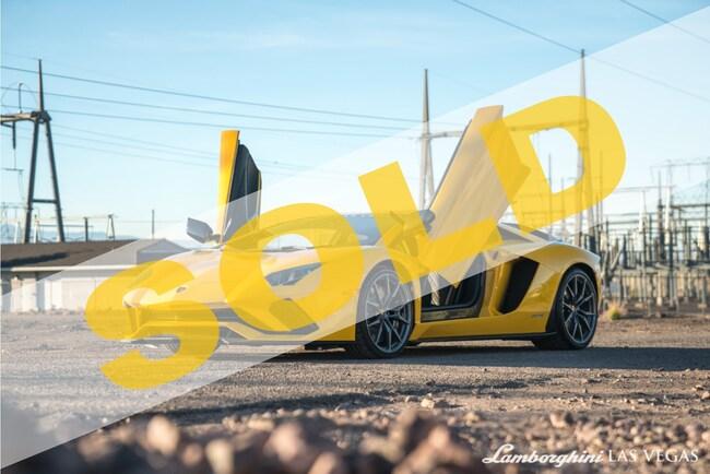 2018 Lamborghini Aventador S LP740-4 Coupe
