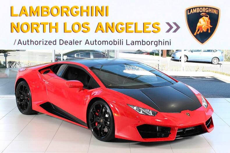 Used 2016 Lamborghini Huracan LP580-2 coupe near Los Angeles, CA