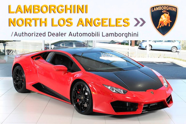 2016 Lamborghini Huracan LP580-2 coupe