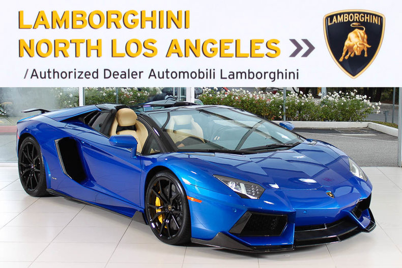 Used 2014 Lamborghini Aventador Roadster Roadster Near Los Angeles, CA