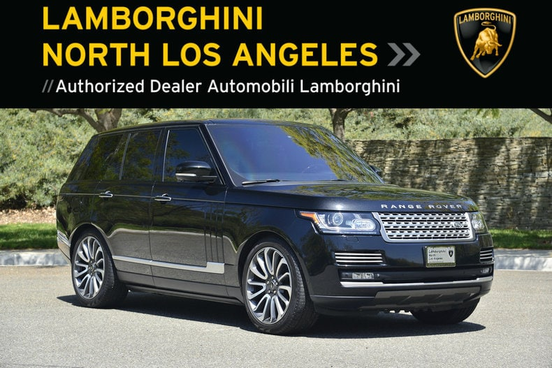 used 2014 land rover range rover for sale at lamborghini north