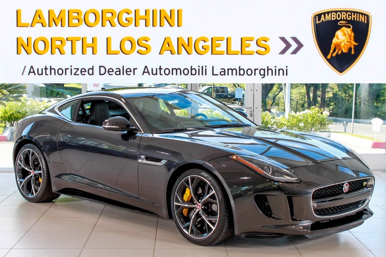 Used 2015 Jaguar F Type R Coupe Near Los Angeles, CA