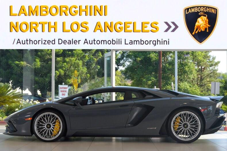 New 2017 Lamborghini Aventador S For Sale Calabasas Ca Vin